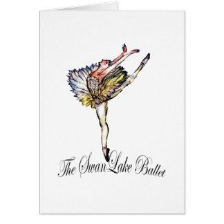 Original Swan Lake Ballet by Latidaballet! Greeting Card