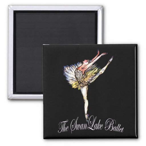 Original Swan Lake Ballet by Latidaballet! Refrigerator Magnets