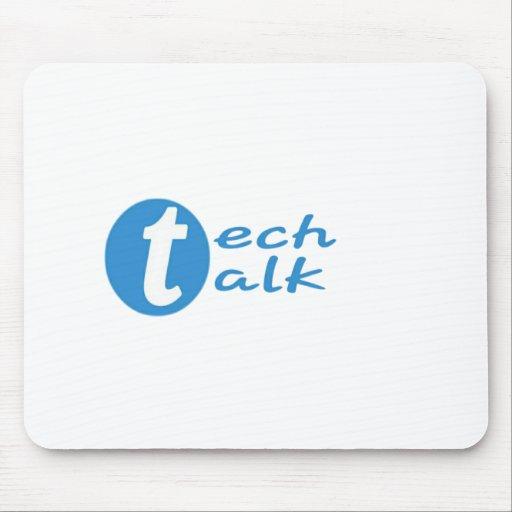 Original Tech Talk logo Mousepad