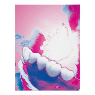 Original Teeth Model Design Dentist Poster