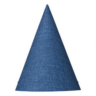 Original textile fabric blue fashion jean denim party hat