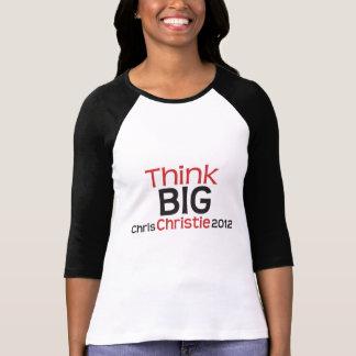 Original Think BIG Chris Christie 2012 T Shirts