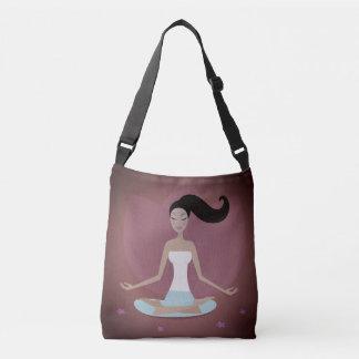 Original tote bag with Meditation girl