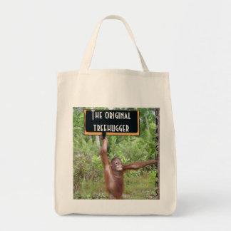 Original TreehuggerOrangutan Tote Bag