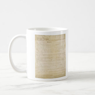 ORIGINAL United States Constitution Page 1 Coffee Mug