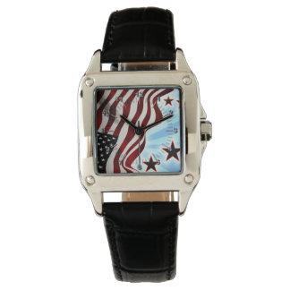 Original Usa flag Wristwatches