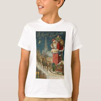 Original vintage 1906 Santa clous poster T-Shirt