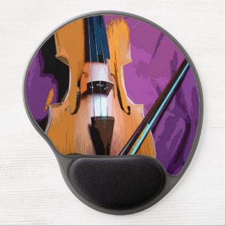 Original vintage art gel mousepad - Viola Gel Mouse Mat