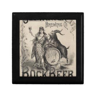 Original vintage Bockbeer poster Gift Box