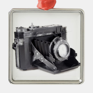 Original vintage camera christmas ornament