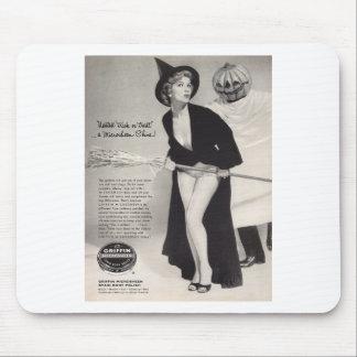 Original vintage halloween  (Griffin ads) Mousepad