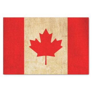 Original Vintage Patriotic National Flag of CANADA Tissue Paper