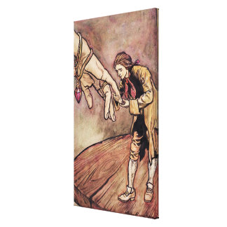 Original watercolour illustration for Gulliver's Canvas Print