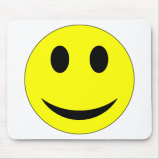 Original Yellow Smiley Face Mouse Pads