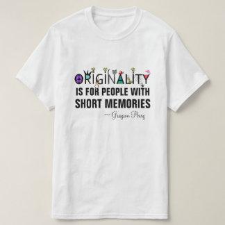 """Originality"" U.K. Artist Grayson Perry Quote T-Shirt"