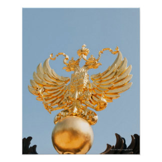 Originally a Byzantine symbol, the double-headed Poster