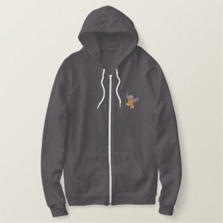 Oriole Embroidered Hoodie