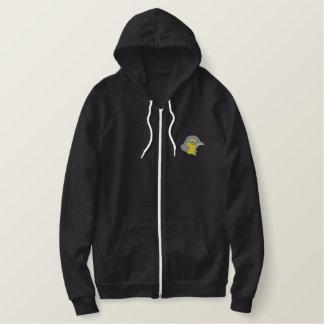 Oriole Head Embroidered Hooded Sweatshirt