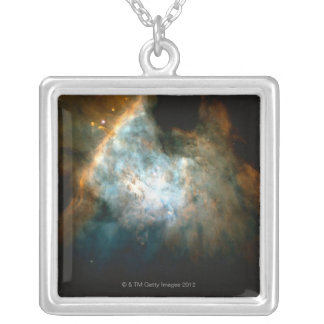 Orion 3 silver plated necklace