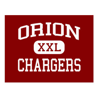 Orion - Chargers - High School - Orion Illinois Postcard