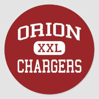 Orion - Chargers - High School - Orion Illinois Stickers