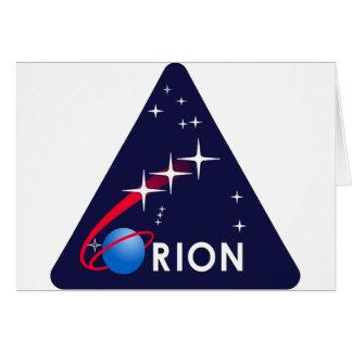 Orion Crew Module Cards