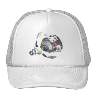 Orion Exploded View Mesh Hats