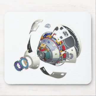 Orion Exploded View Mouse Pad