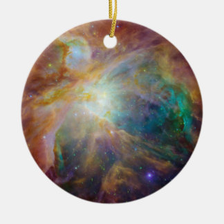 Orion in Infrared Christmas Ornament