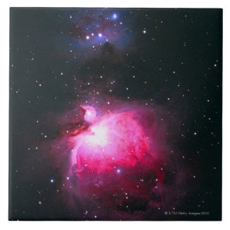Orion Nebula 2 Large Square Tile