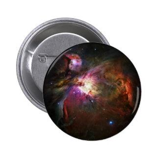 Orion Nebula 6 Cm Round Badge