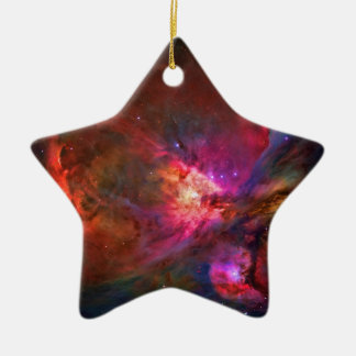 Orion Nebula and Trapezium Stars Christmas Ornament