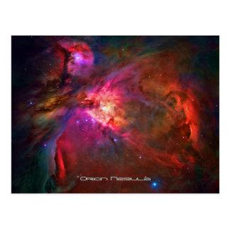 Orion Nebula and Trapezium Stars Postcard