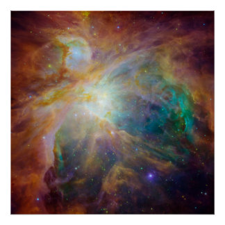 Orion Nebula Astronomy Photo Poster