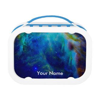 Orion Nebula Beautiful Blue Lunchbox
