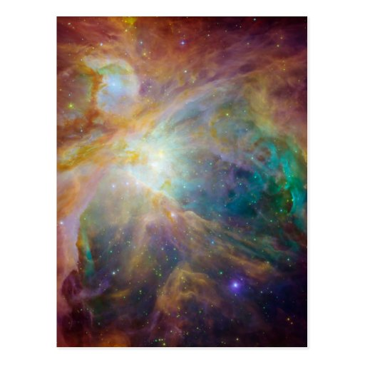 Orion Nebula Composite Post Cards