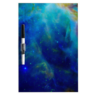 Orion Nebula cosmic galaxy space universe Dry Erase Board
