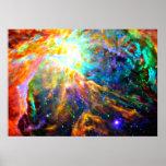 Orion Nebula - Emission Nebula Poster