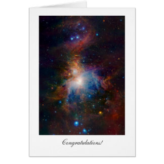 Orion Nebula - General Congratulations Cards