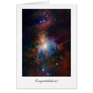 Orion Nebula - General Congratulations Cards