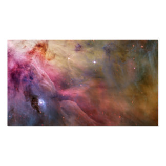 Orion Nebula Hubble Space Business Card Template