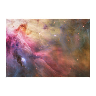 Orion Nebula Hubble Space Gallery Wrapped Canvas
