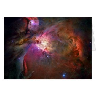 Orion Nebula Hubble Space Greeting Card