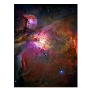 Orion Nebula Hubble Space Postcard