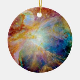 Orion Nebula Hubble Spitzer Telescope Space Photo Christmas Ornament