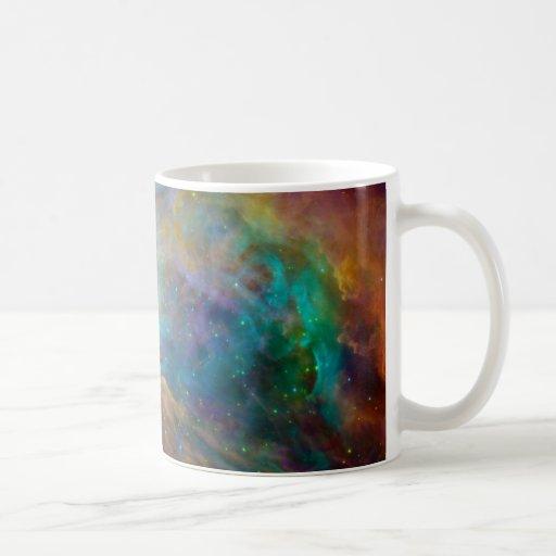 Orion Nebula (Hubble & Spitzer Telescopes) Coffee Mugs