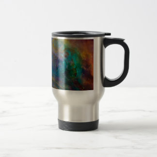 Orion Nebula (Hubble & Spitzer Telescopes) Stainless Steel Travel Mug