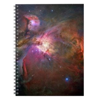 Orion Nebula (Hubble Telescope) Spiral Note Book