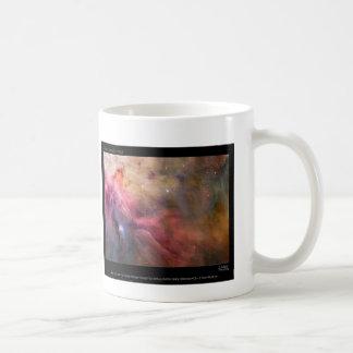 Orion Nebula, look to the skies mug