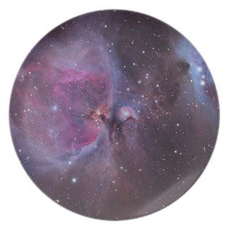 Orion Nebula Party Plate